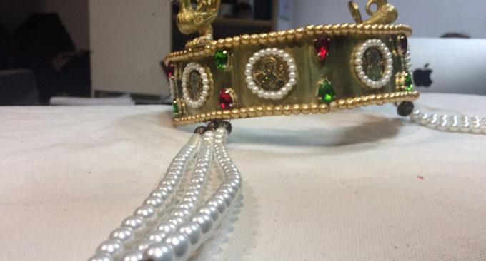 """Фото Создание музейного экспоната """"византийская корона""""."""